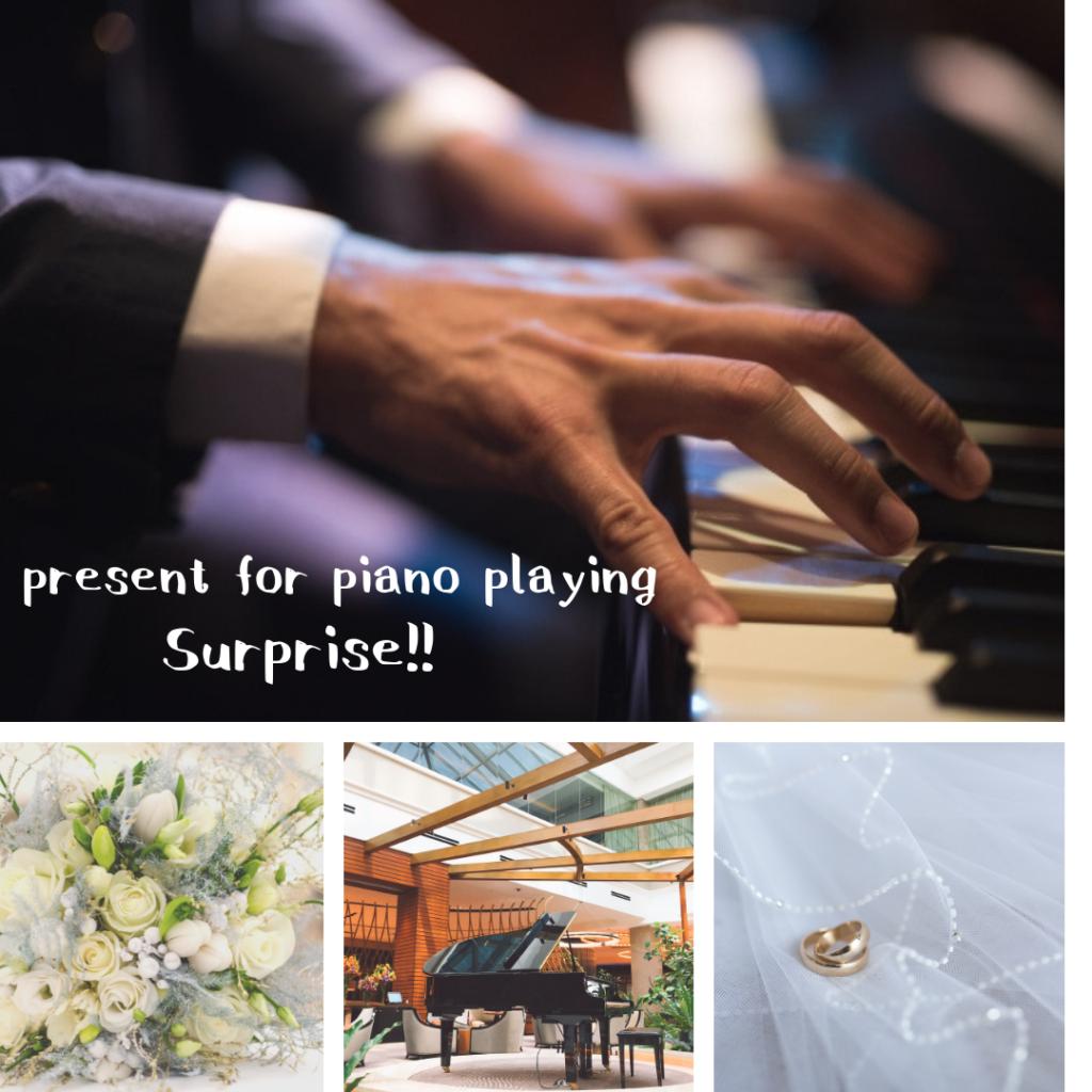 目黒区ピアノ教室 結婚式サプライズ演奏/ピアノレシピ